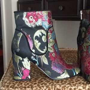 Marc Fisher Shoes - Marc Fisher Tapestry Booties